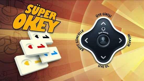 Kameralı Süper Okey Android Apk Oyun resimi