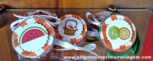 Resenha: Personalizados Mimos da Line - Pic Nic do Enzo