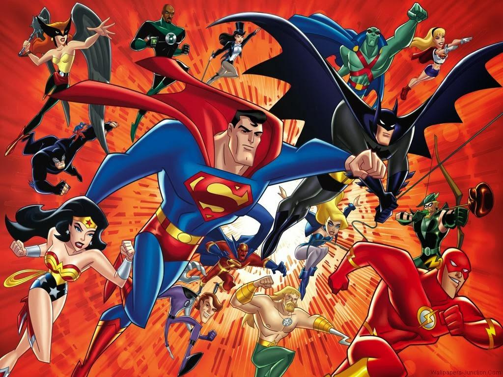 Il mondo di supergoku le schede justice league