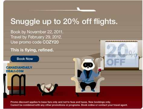 Canadian daily deals porter airlines coupon 20 off flights coupon code book by nov 22 - Porter airlines book flights ...