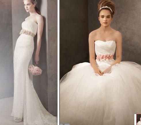 Vestidos novia toque color