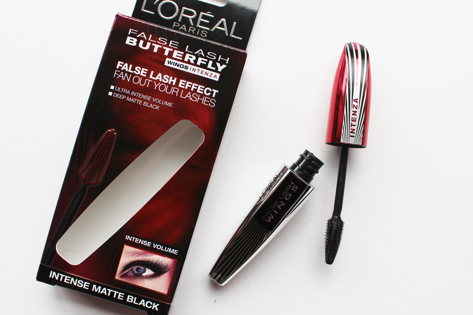 L'OREAL PARIS | New Releases October/November '15 - Review + Swatches - Butterfly Wings Intenza Mascara - CassandraMyee