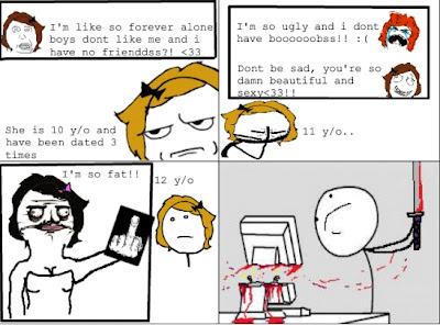 Internet ruined girls life