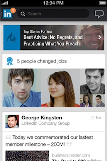 LinkedIn releases redesigned iPhone and Android app