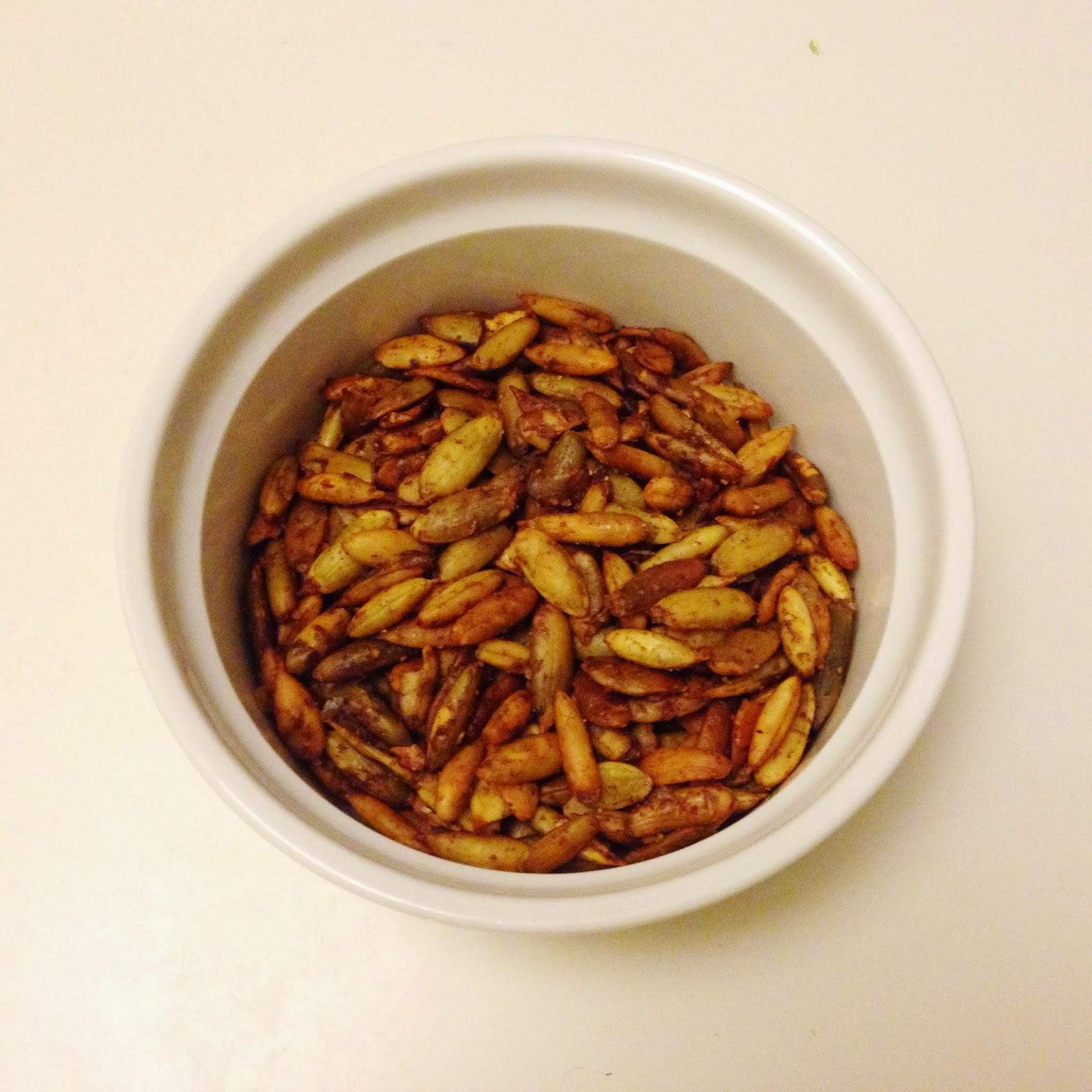 Pumpkin Pie Spiced Pumpkin Seeds {Low Carb, Sugar Free ...