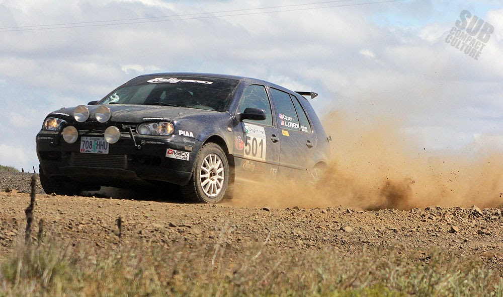Volkswagen Golf TDI rally car