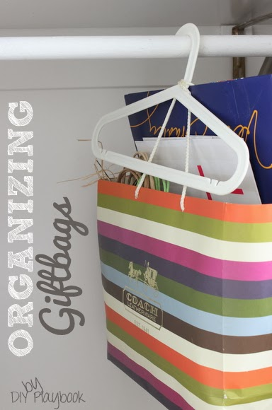 Organizing Giftbags