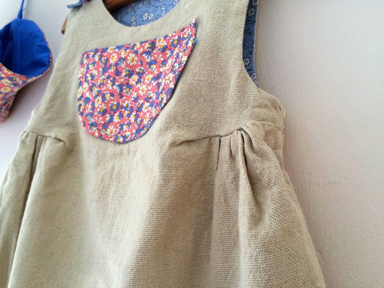 sewing baby romper and hat