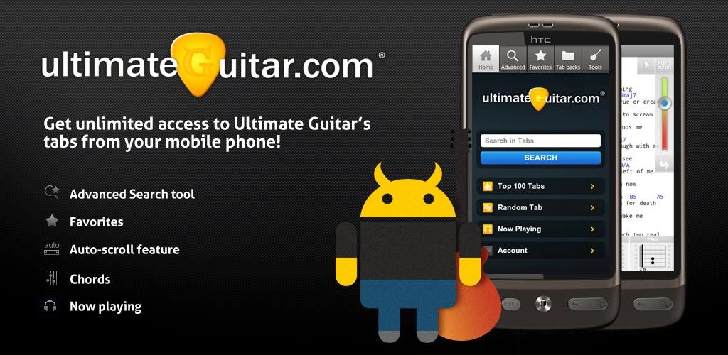 Ultimate Guitar Tabs & Chords v3.0.2 Full APK | Andro Apps Free
