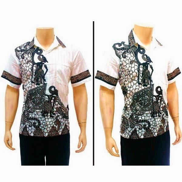 Baju Hem Batik Pria BP4137