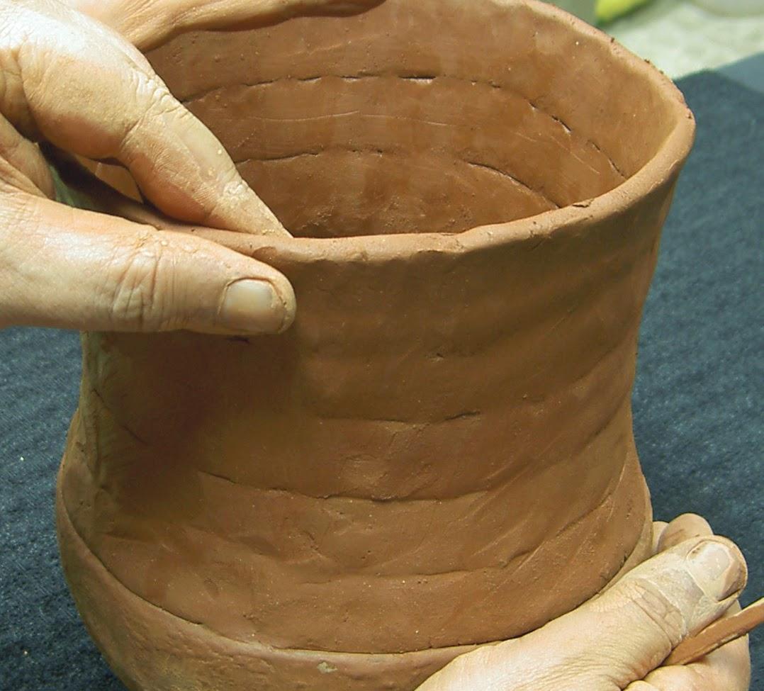 Arqueocer mica cer mica prehist rica cocci n en foso y for Tecnicas para esmaltar ceramica