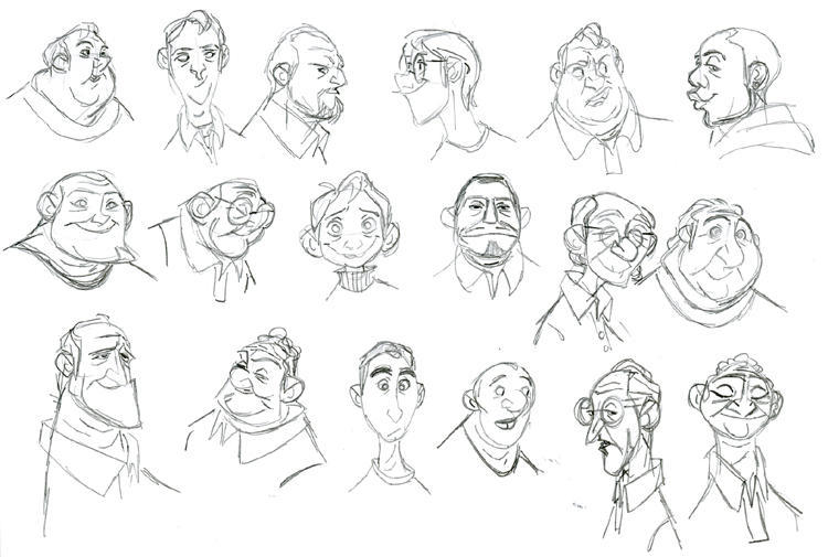 Character Design Face Shapes : January blodgett s