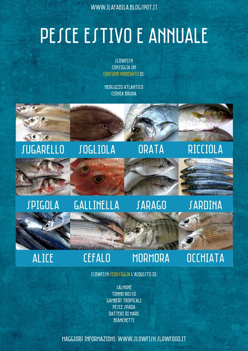 Agosto: pesce di stagione