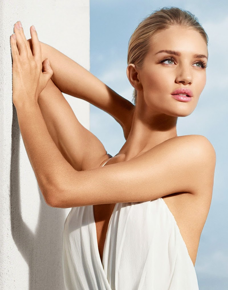 Rosie Huntington-Whiteley stars for the Moroccan Oil Campaign 2015