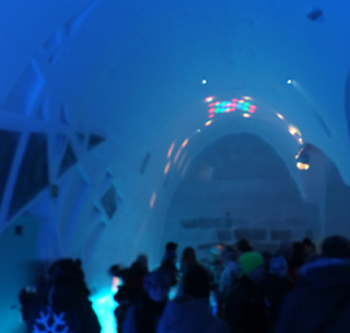 Icebar dancefloor