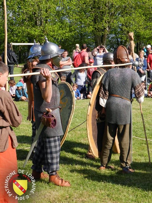 SION (54) - Journée gallo-romaine - Guerriers gaulois