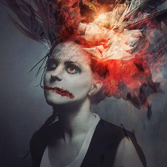 pierre alain 3mmi design ilustração fotografia digital photoshop surreal sombrio