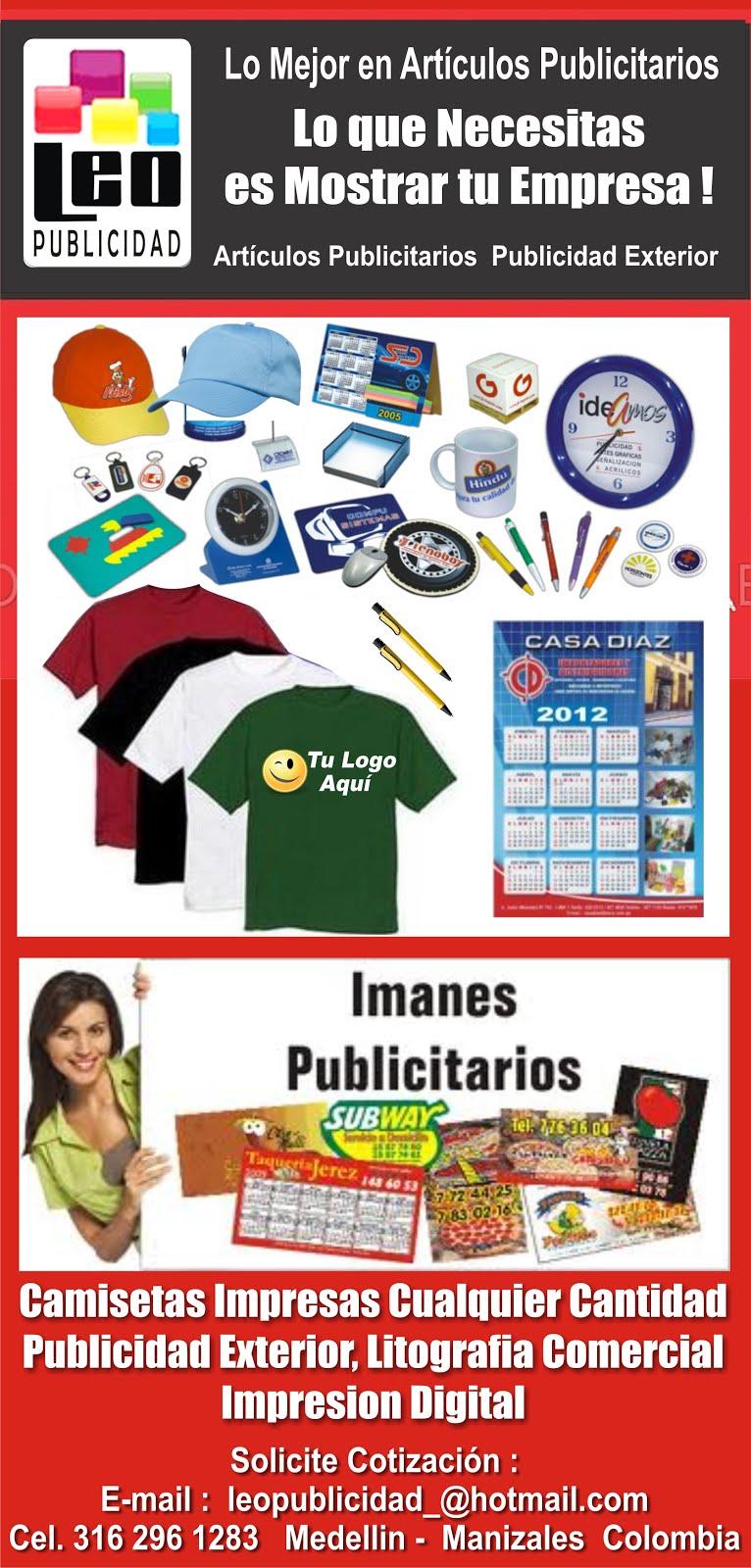 ESTAMPADOS Y PUBLICIDAD MANIZALES