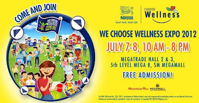 Nestle's We Choose Wellness Expo