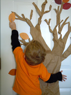 thankful tree by laura williams, www.lauralooloo.blogspot.com