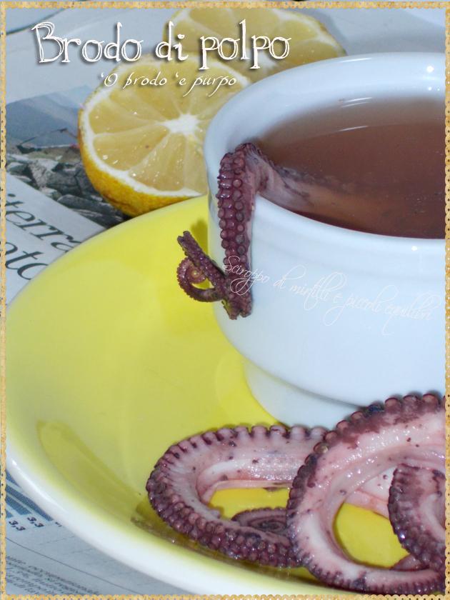 Brodo di polpo alla napoletana con limone
