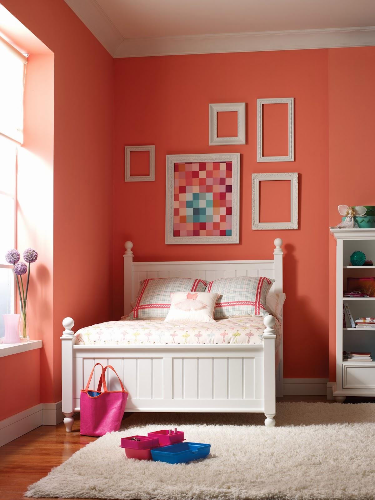 Habitaciones para adolescentes color coral dormitorios - Colores relajantes para dormitorio ...