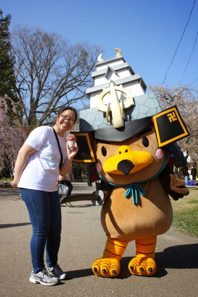 Hirosaki Mascot Takamaru-Kun 弘前市のマスコット たか丸くん