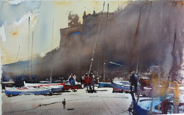 Art Of Watercolor Alvaro Castagnet Christmas Interview