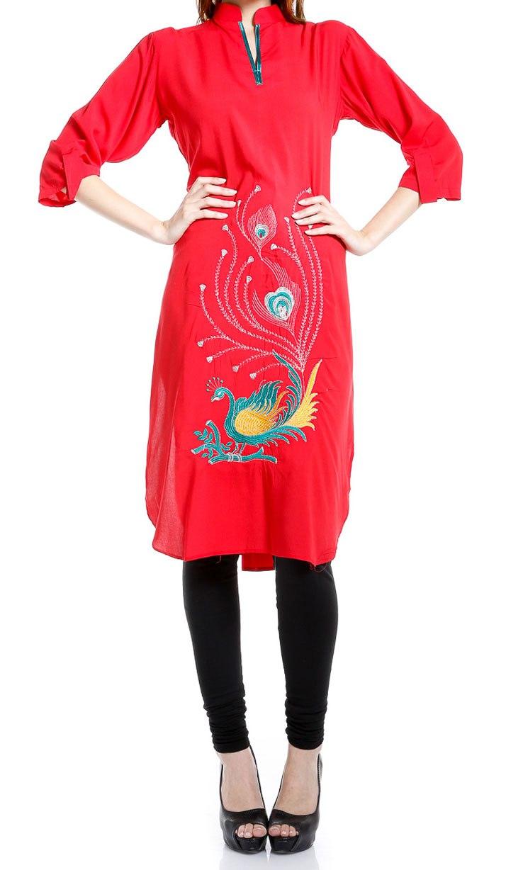 Style Pakistani Churidar Neck Designs Salwar Kameez Gala Dress 2015