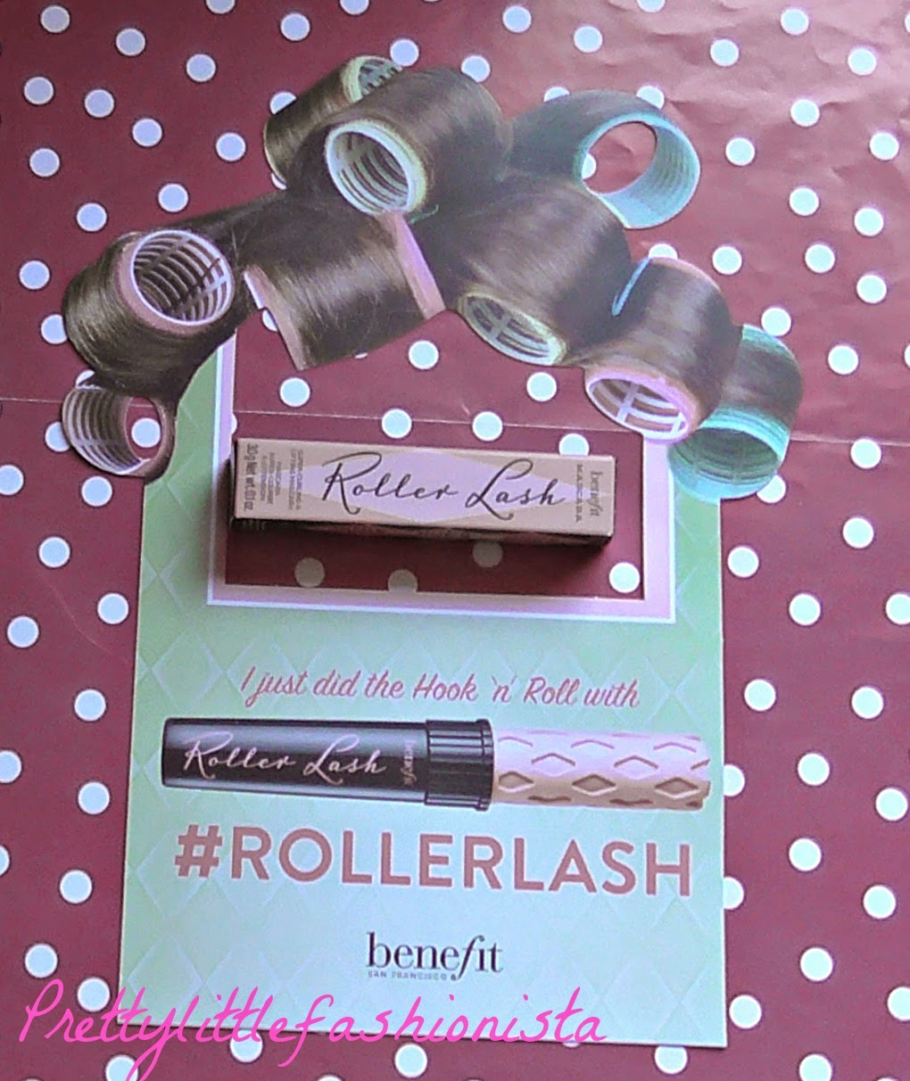 Elle Magazine and Benefit's Roller Lash Mascara (March 2015)