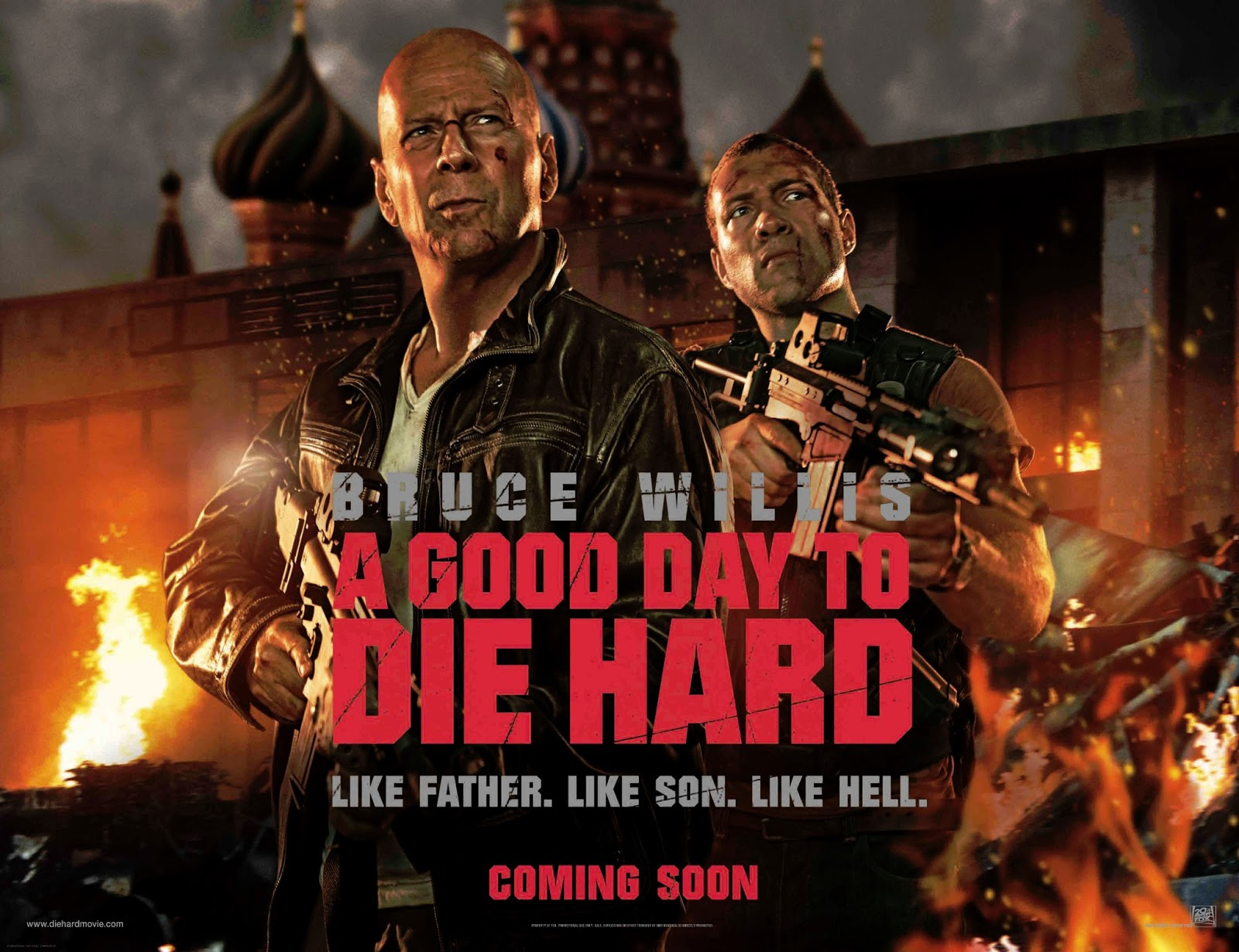A Good Day to Die Hard 2013 movie