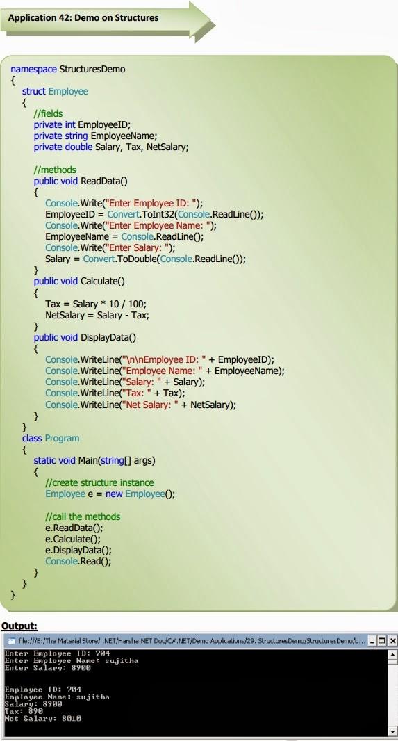 structure program