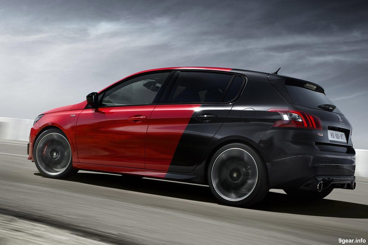 new peugeot 308 gti finally revealed car reviews new car pictures for 2018 2019. Black Bedroom Furniture Sets. Home Design Ideas