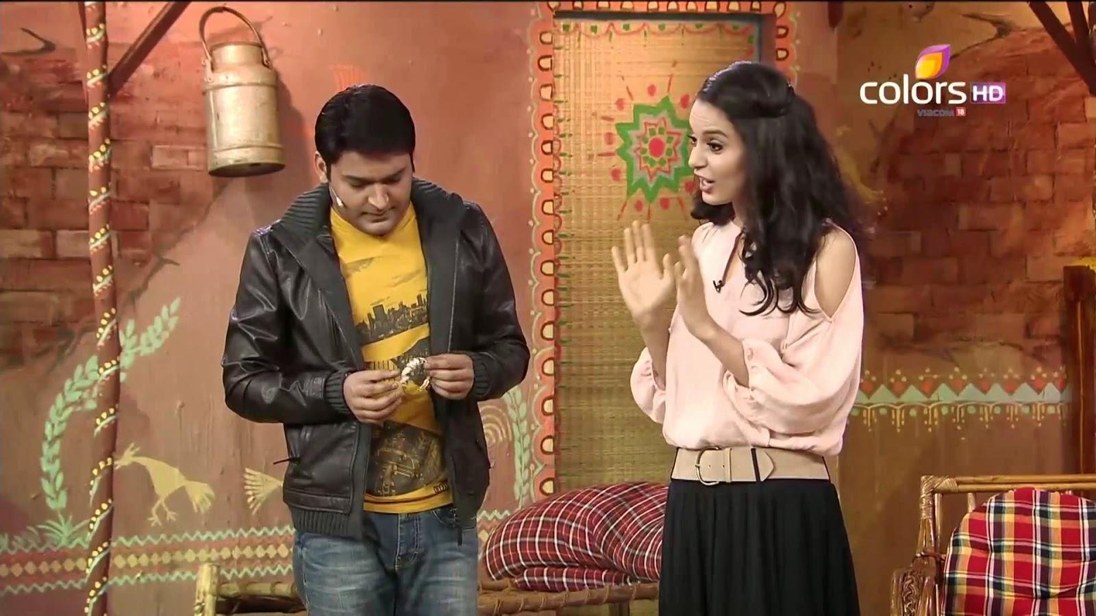 comedy nights with kapil kangana ranaut with kapil photos download