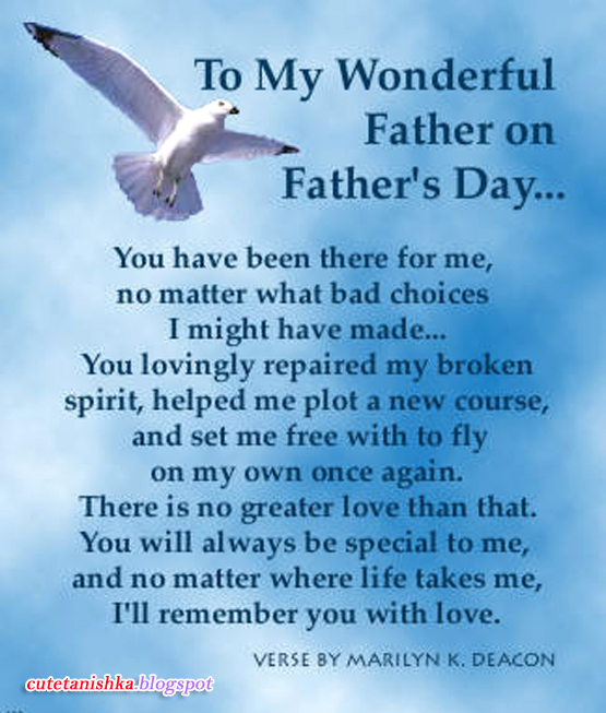 Father's Day Poem in English | Beautiful Poetry on Father's Day 2013 ...