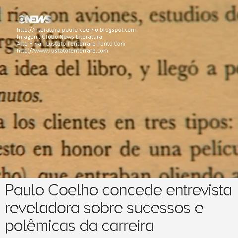 Páginas internas do livro Onze Minutos, em espanhol, de Paulo Coelho no Programa Globo News Literatura