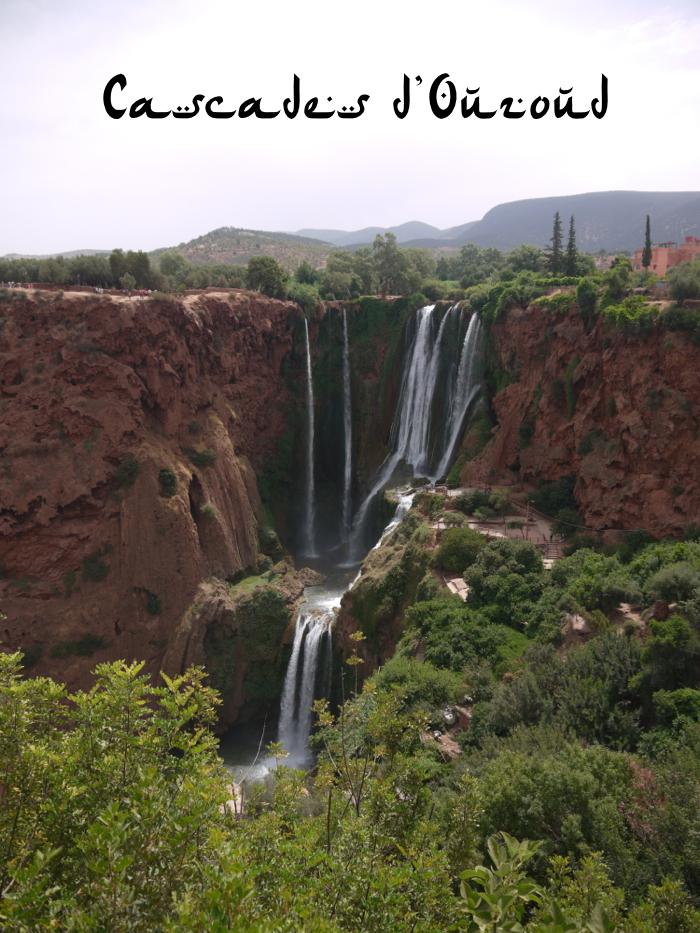 Cascades d'Ouzoud Ouzoud Waterfall Morocco