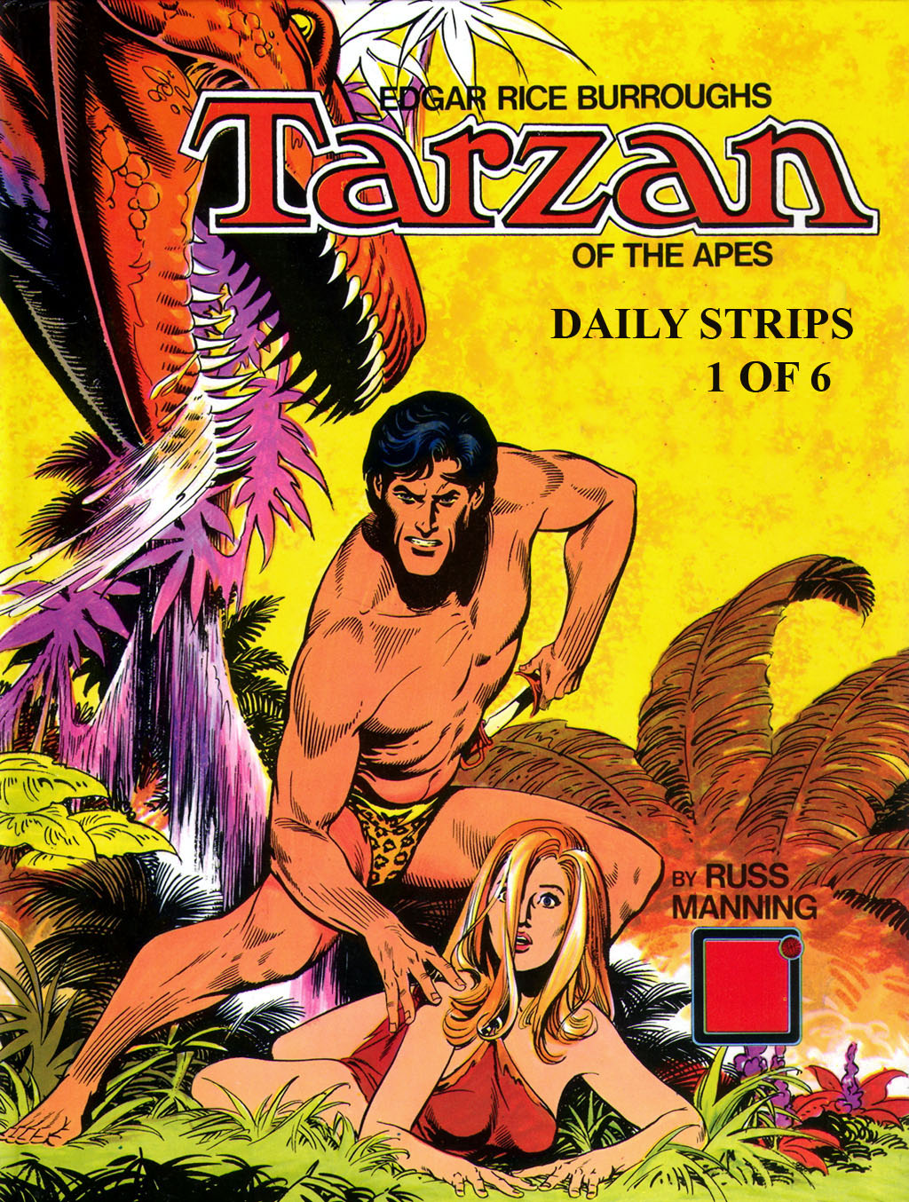 COMING SOON  Tarzan-Russ Manning Complete Dailies