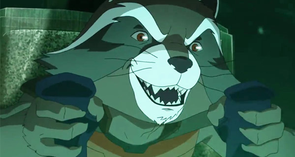Rocket Raccoon serie animada