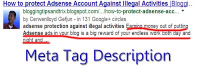 add meta tag description