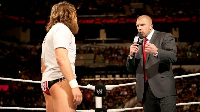 Daniel Bryan Triple H The Authority Yes Movement WWE Championship WrestleMania 30 XXX