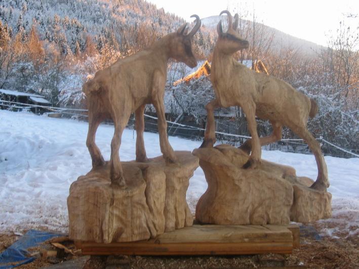 Sculpture sur bois la tron onneuse - La sculpture sur bois ...