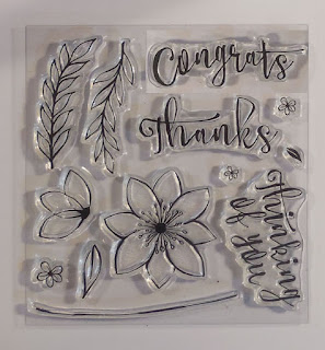 Blissful Bouquet Stamp set from Stampin'UP!'s 2015 October Paper Pumpkin Kit