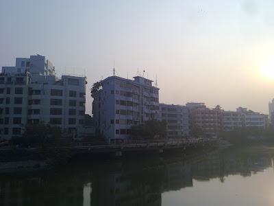 Banani City Area.