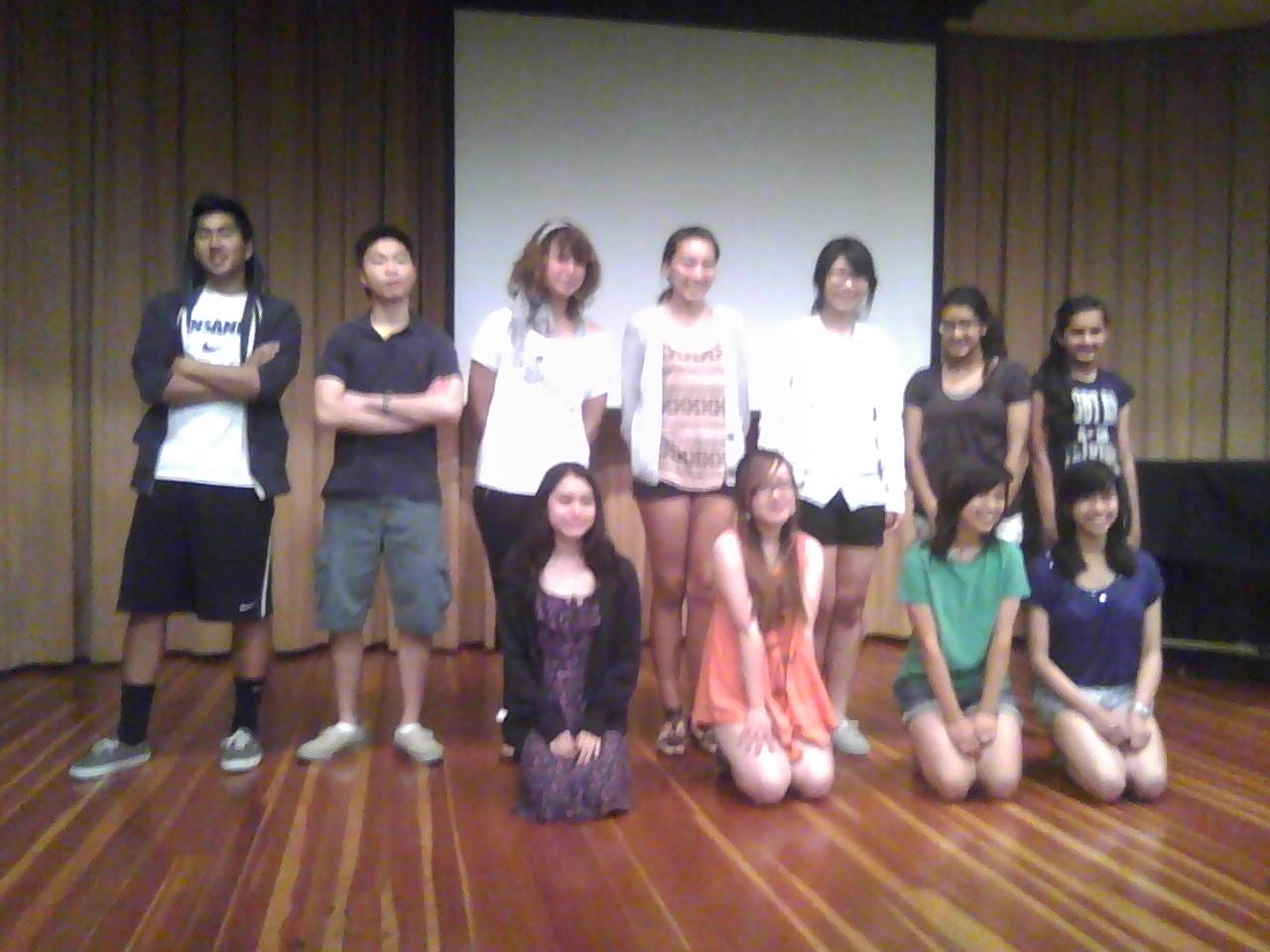 Teens who read in the 2012 San Gabriel Valley Poetry (Festival) Youth Slam, ...