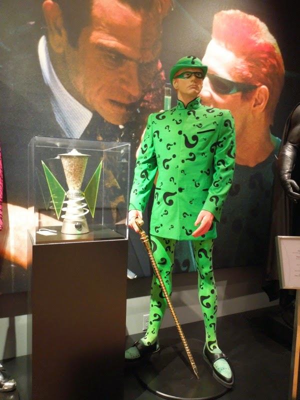 Riddler Batman Forever movie costume Box prop
