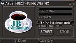 Inject Telkomsel AS JB + Plink Wez Fix