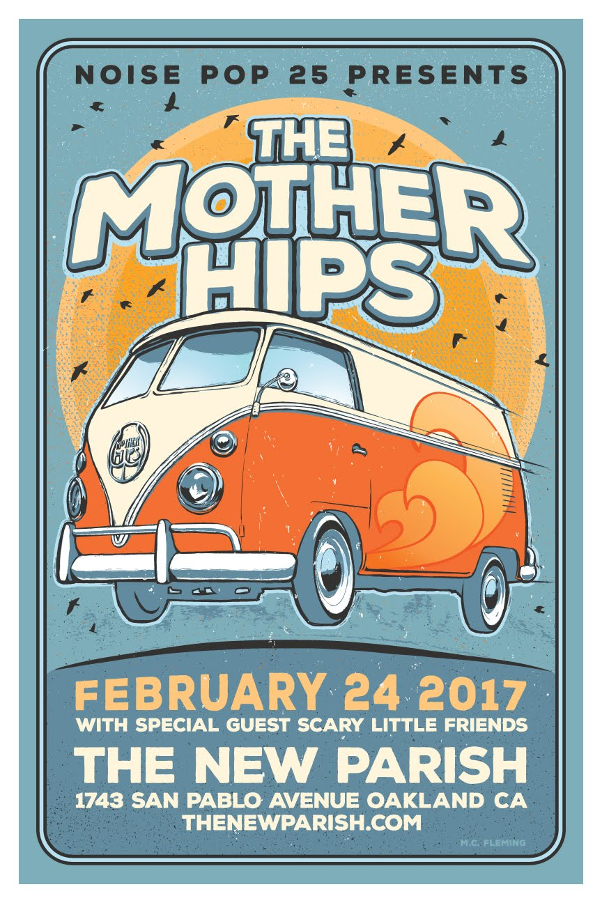 2/24 - Mother Hips @ The New Parish