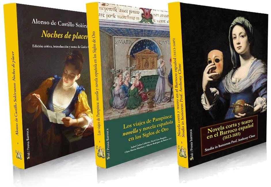 Colección Prosa Barroca, , Isabel Colón Calderón, Rafael Bonilla, Literaturas Hispánicas