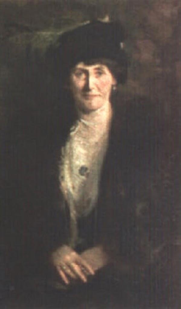 Dama con sombrero, Emilio Sala Francés